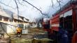 В області сталася пожежа на території монастиря