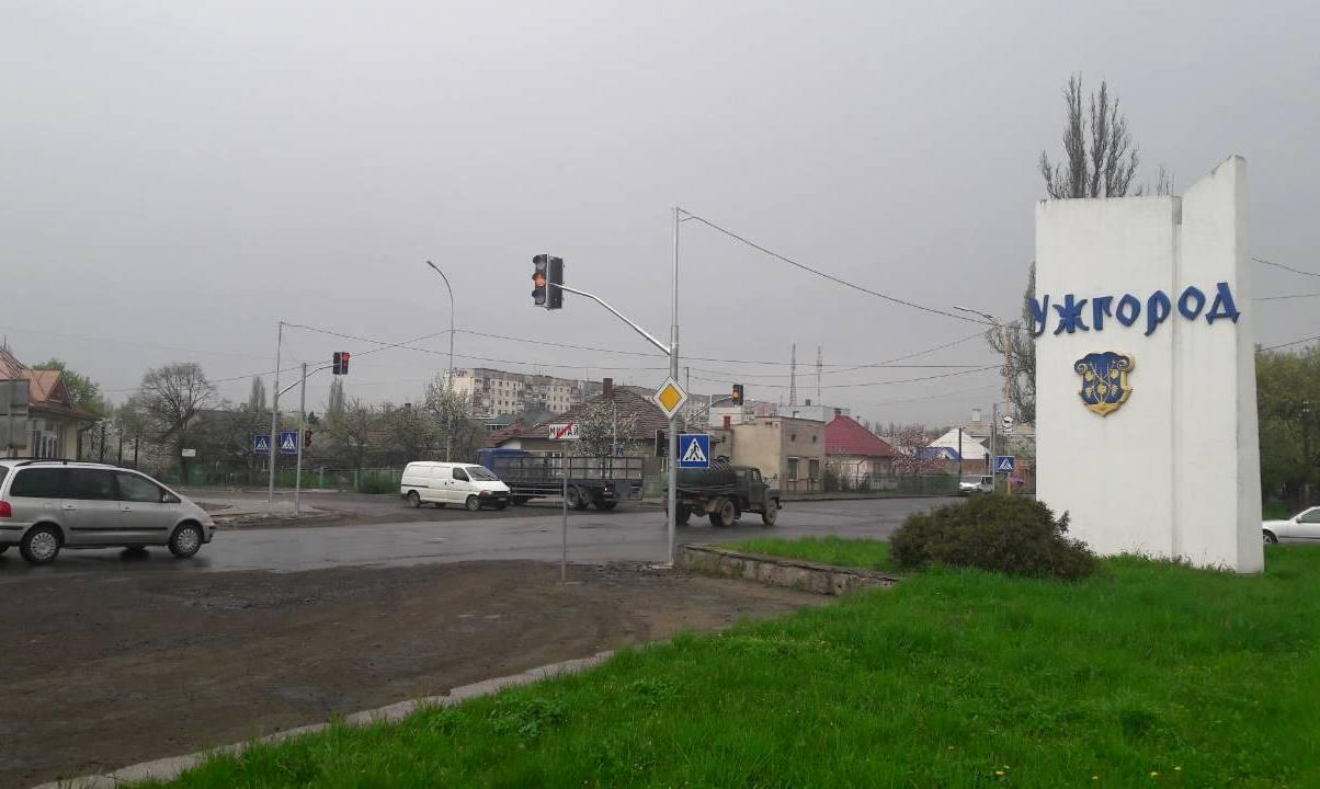 В Ужгороді запрацював новий світлофор