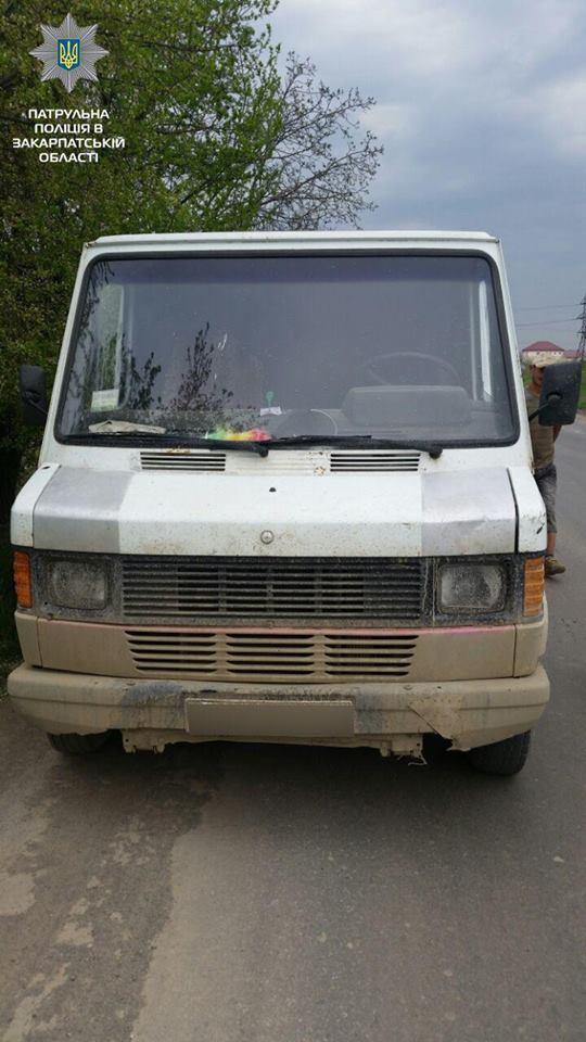 У Мукачеві патрульні зупинили нетверезого водія