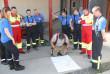 Дерценські вогнеборці-добровольці провели масштабні тренування з колегами зі Швейцарії