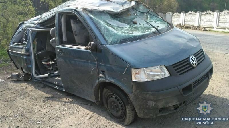 В області трапилася аварія: постраждало подружжя