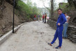 На Тячівщині місцеві мешканці самостійно розширили та забетонували частину комунальної вулиці