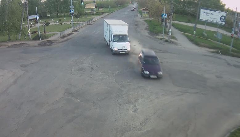 Оприлюднено відео ДТП у Виноградові