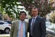 На Закарпатті перебуває міністр-радник Посольства Японії в Україні