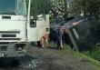 ДТП на Іршавщині: зіткнулися вантажівка та мікроавтобус
