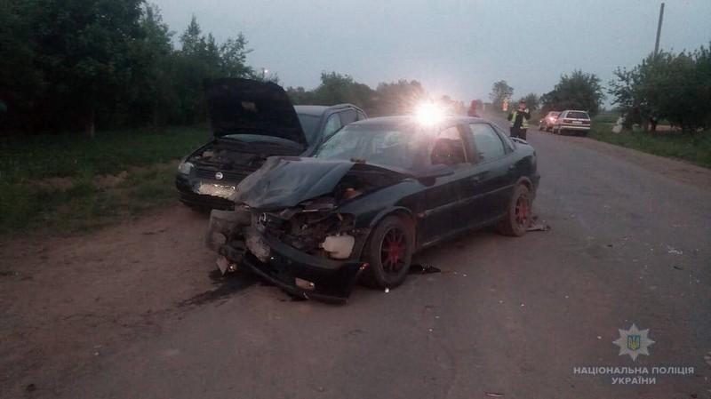 В Ужгородському районі зіткнулися два авто