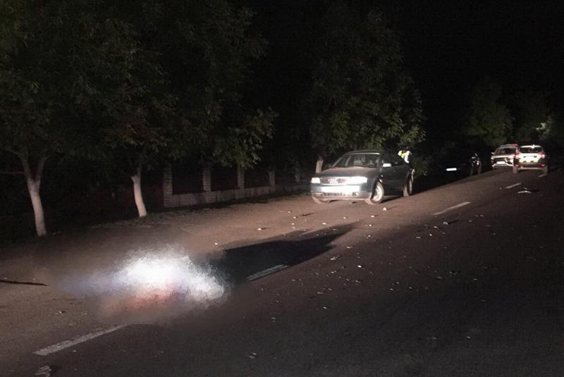 Цієї ночі на Франківщині, під колесами іномарки, загинув невідомий пішохід