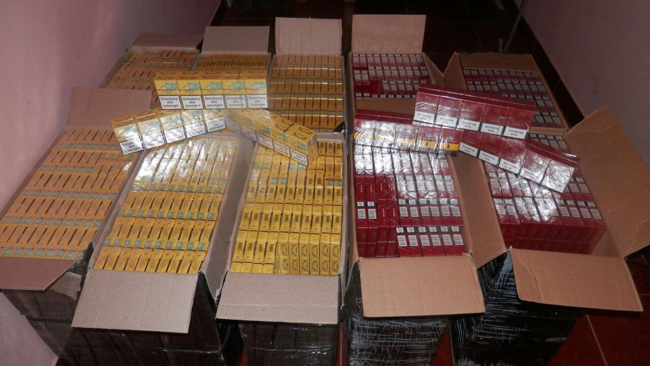 Прикордонники виявили 5 тисяч пачок контрабандних сигарет