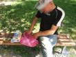 У Мукачеві в парку чоловік продавав набої
