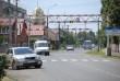 На одній із вулиць Мукачева встановили обмежувач руху великогабаритного транспорту