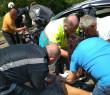 Рятувальники ліквідовували наслідки двох ДТП