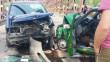 Моторошна ДТП у Виноградові: на мосту лоб у лоб зіткнулись два автомобілі
