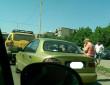 В Ужгороді сталася аварія за участі позашляховика Тойота