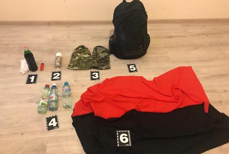 Ввечері у Мукачеві затримали двох чоловіків, які, ймовірно, готували провокації