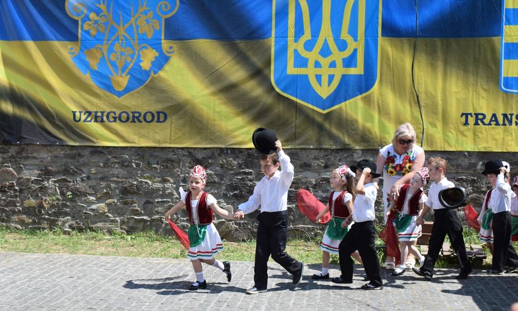 В Ужгороді проходять численні заходи у рамках відзначення Міжнародного дня захисту дітей