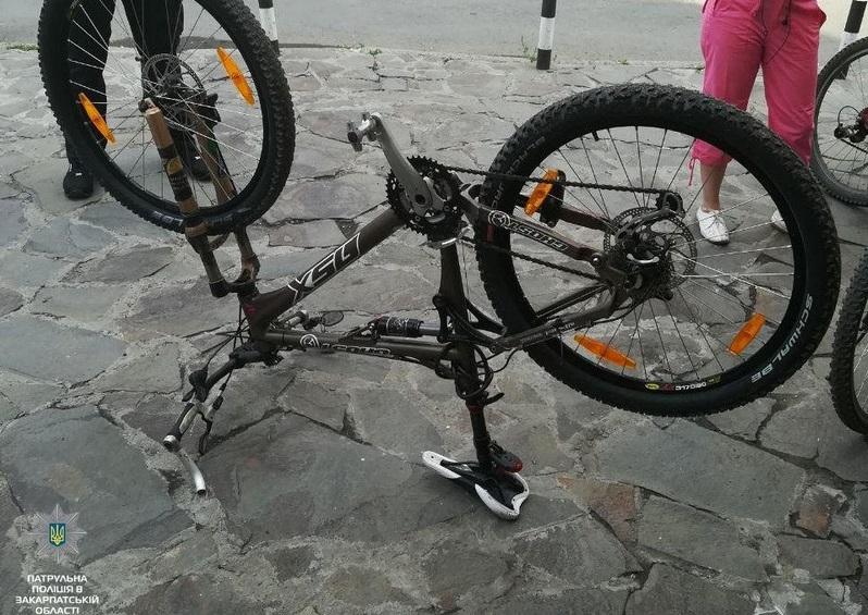 Велосипед, який украли кілька місяців тому, знайшли