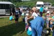 Мікроавтобус із дітьми потрапив у ДТП на в'їзді у Мукачево