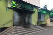 У Мукачеві підпалили супермаркет