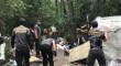 У Києві із сокирами і молотами розгромили табір ромів
