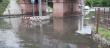 В Ужгороді затопило переїзд
