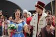 У Мукачеві влаштували реконструкцію весілля Ілони Зріні та Імре Текелі