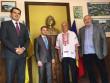 На Рахівщині в румунськомовній школі відкрили бюст видатному поету Міхаю Емінеску
