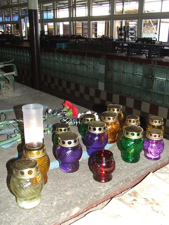 У Берегові на ринку раптово помер мешканець Мукачівщини