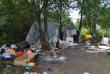 Біля Львова невідомі з ножами напали на табір ромів з Мукачівщини: один ром загинув