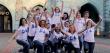 Мами випускників однієї із шкіл міста влаштували флешмоб і станцювали у центрі Мукачева