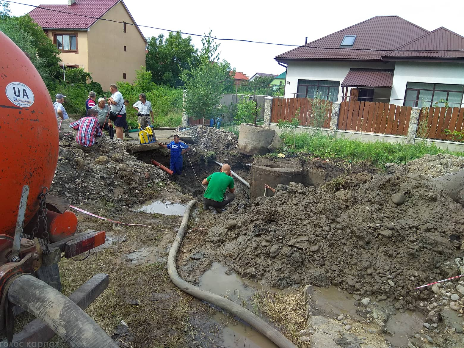 У Виноградові сталася аварія на водопроводі