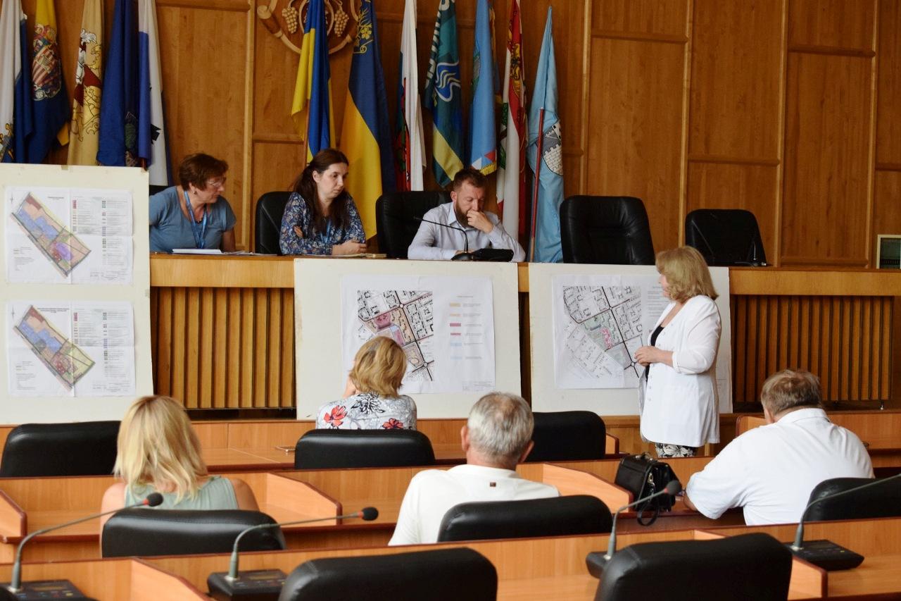 Біля озера зона відпочинку та парковки вздовж вулиць: в Ужгороді обговорили детальний план території