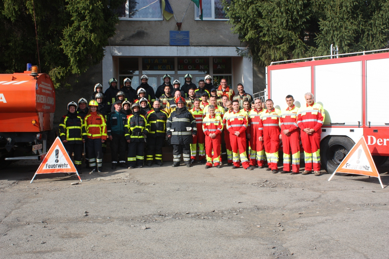 Унікальні в Україні: історія добровільної пожежної команди із Мукачівщини