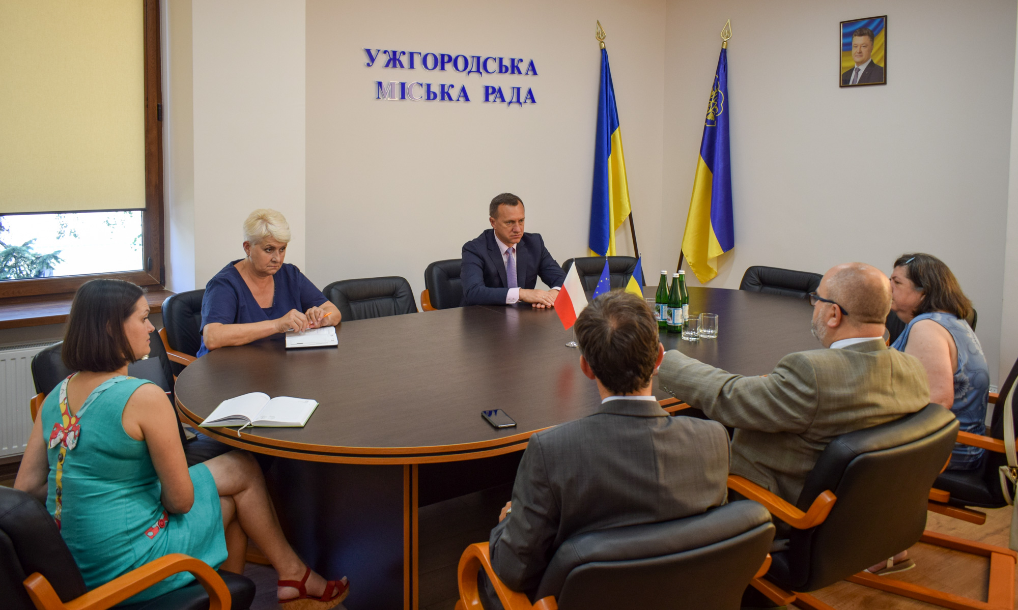 Мер Ужгорода зустрівся з Генеральним консулом Республіки Польща у Львові