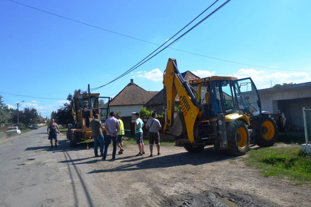 Розпочато ремонт дороги Берегово – Бадалово – Вари – Боржава