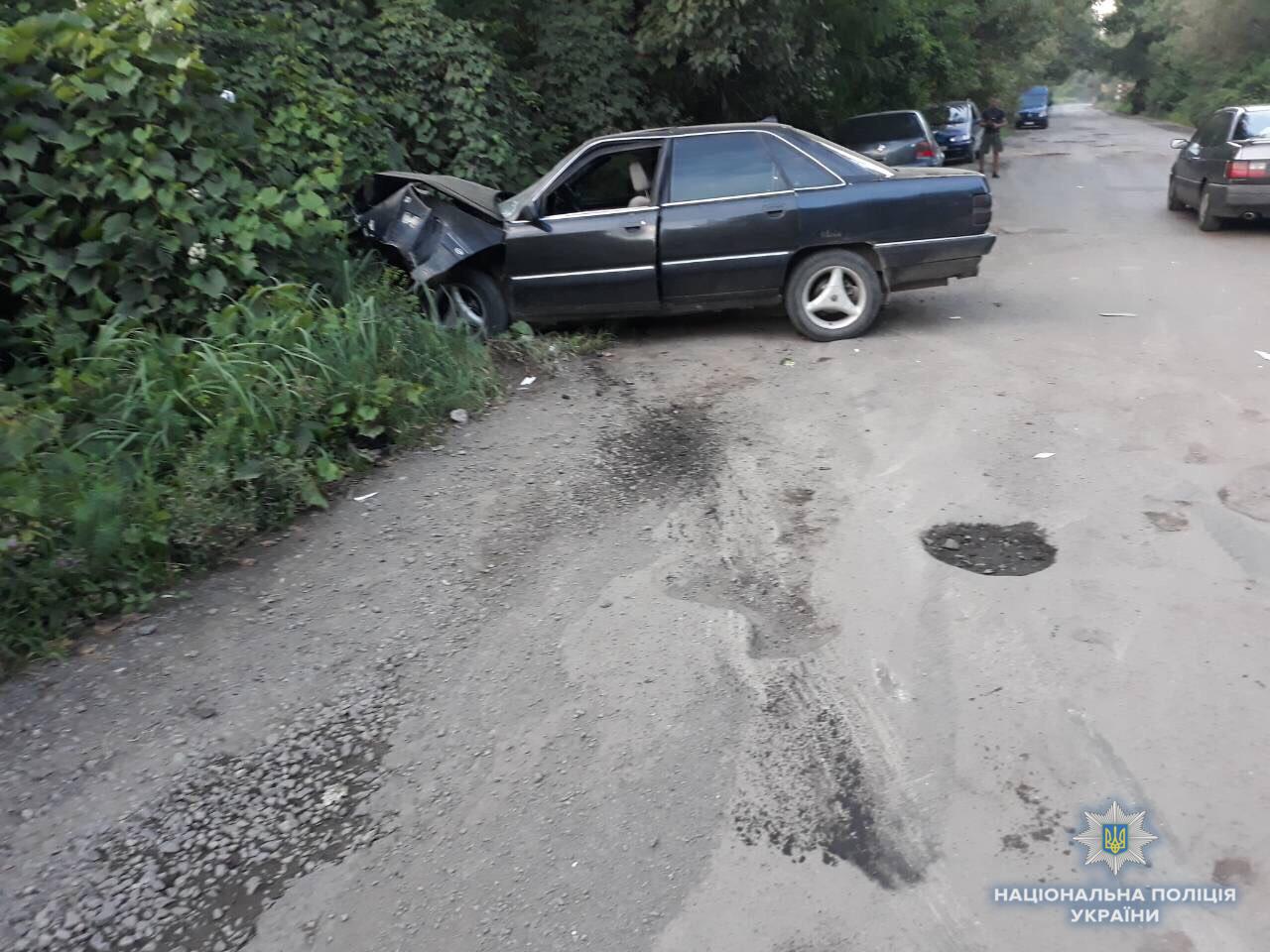 ДТП на Виноградівщині: постраждали шестеро людей, серед яких є діти
