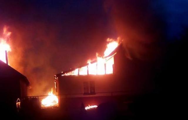 На Ужгородщині спалахнула культова споруда, – поліція