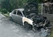В Ужгороді та його передмісті згоріли два автомобілі. Поліція припускає, що їх підпалили