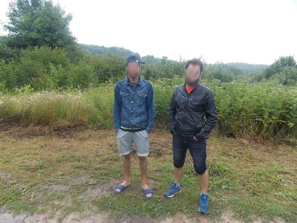 На Закарпатті затримали двох іноземців