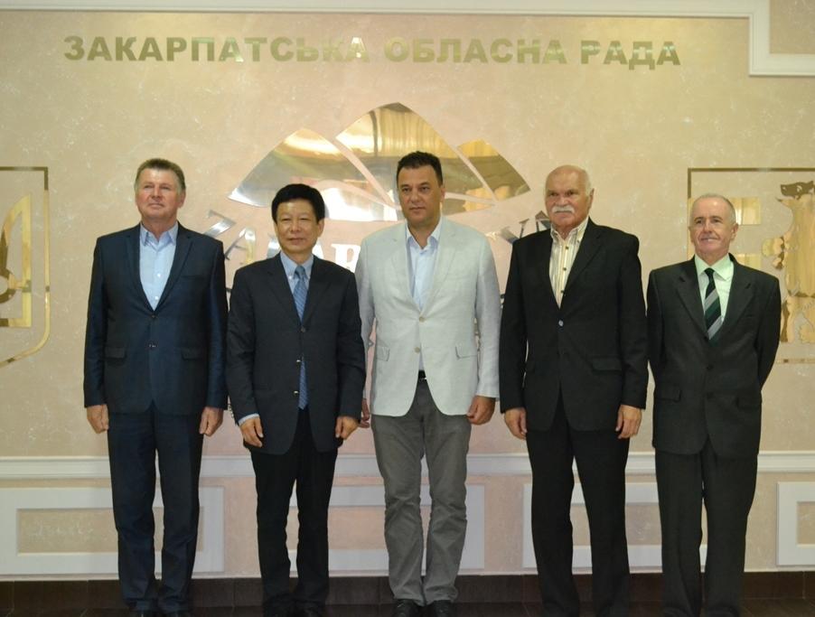 """Китайська корпорація розглядає можливість створення підприємства на базі ужгородського """"Турбогазу"""""""