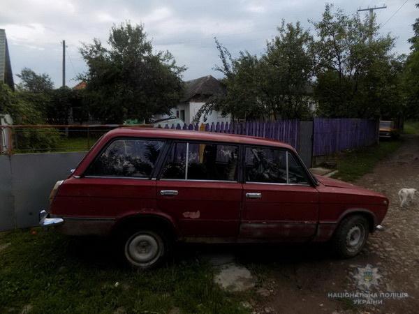 В Іршавському районі п'яний чоловік поїхав додому з кав'ярні на чужому автомобілі