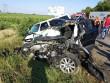 Кривава ДТП: опубліковані нові фото з місця аварії