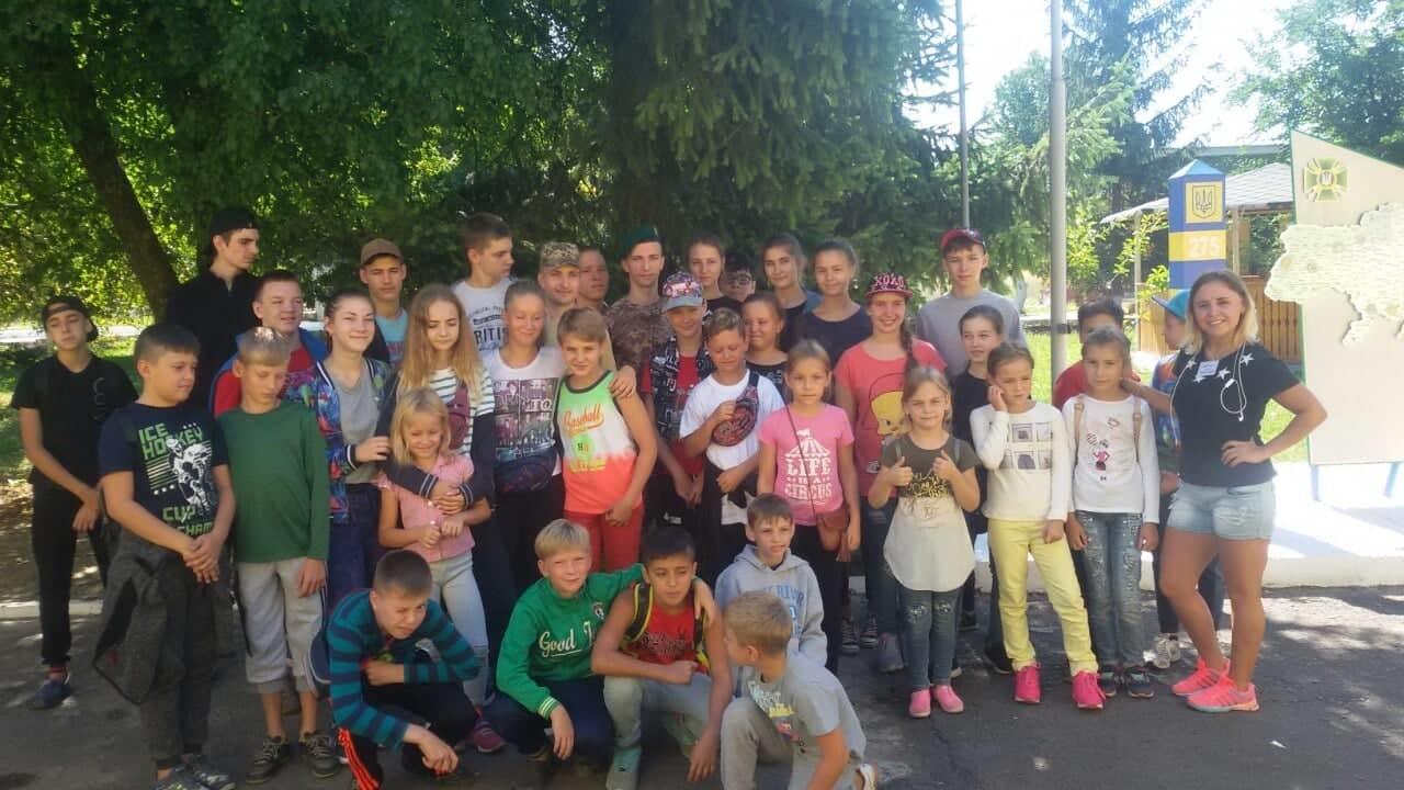 Діти завітали в гості до прикордонників