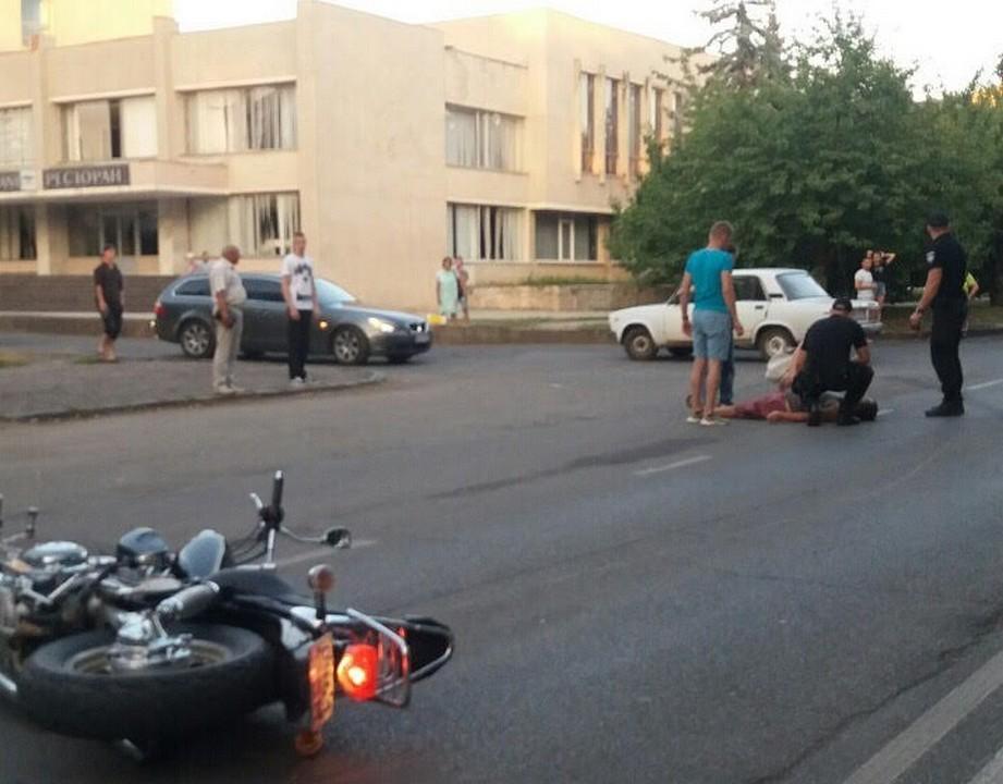Мотоцикліст потрапив в ДТП навпроти ужгородського аеропорту