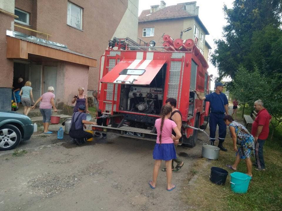 Майже 300 закарпатців залишилися без водопостачання