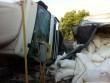 Перекинулася вантажівка: опубліковані фото з місця ДТП