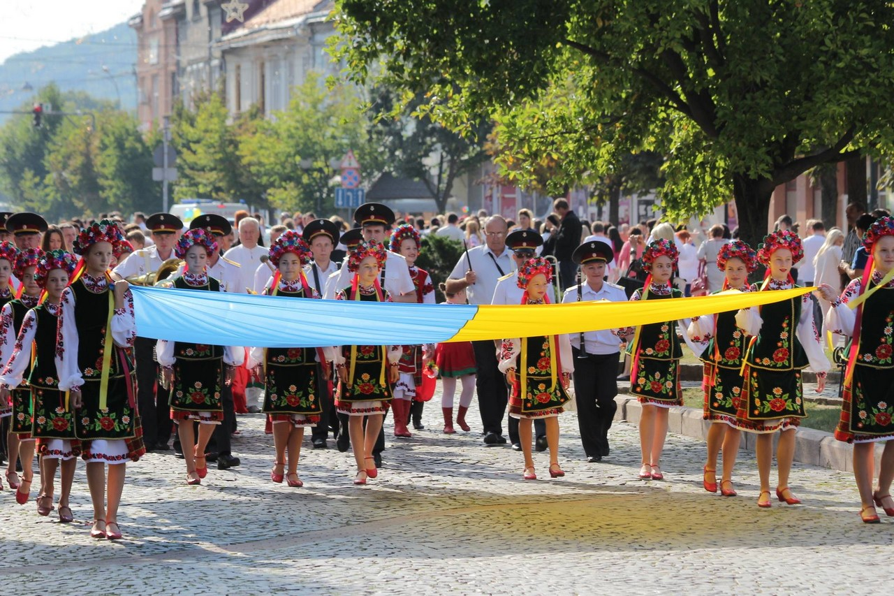 У Мукачеві відбудеться парад вишиванок