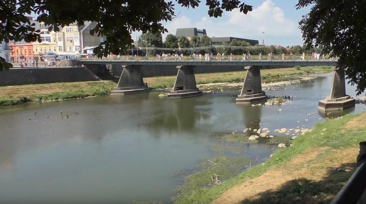 Річка Уж у жахливому стані. Екологи б'ють на сполох