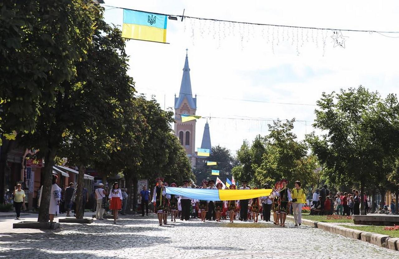 Як у Мукачеві святкуватимуть День незалежності України