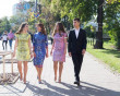 Закарпатська дизайнерка розробила святкову сукню до Дня Незалежності для Марини Порошенко