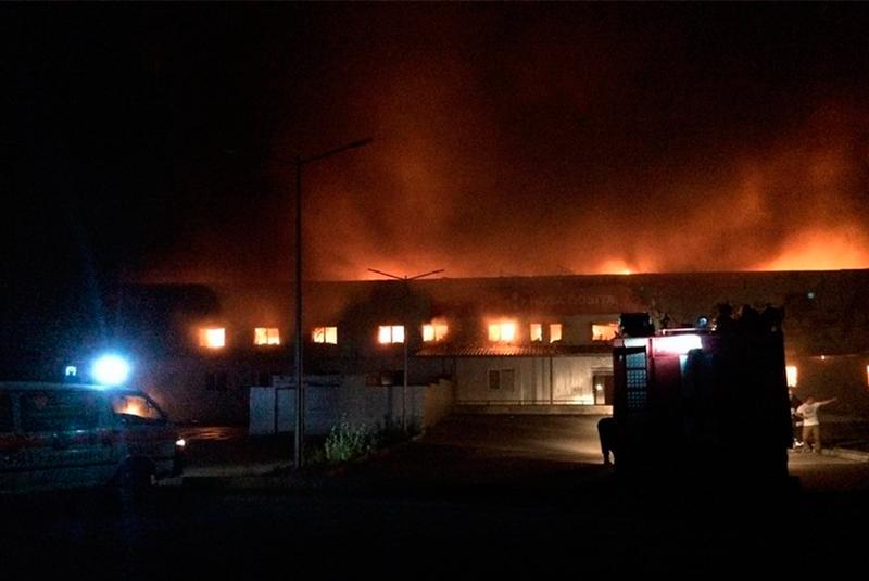 """Пожежа на """"Новій пошті"""" у Мукачеві: відомі нові деталі"""